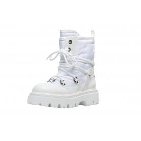Белые зимние ботинки Casadei 1R300