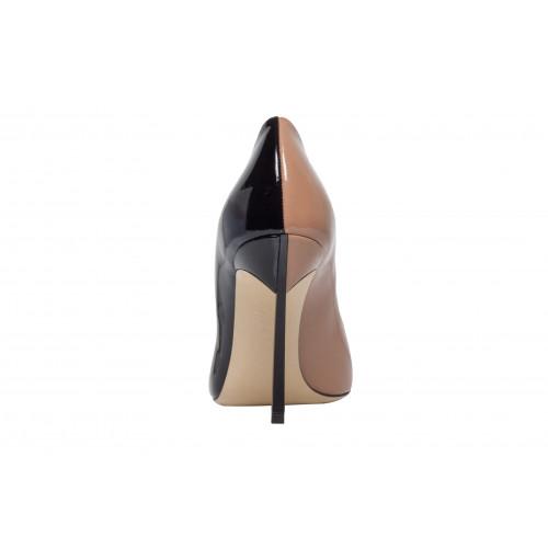 Биколорные туфли-лодочки Casadei Blade