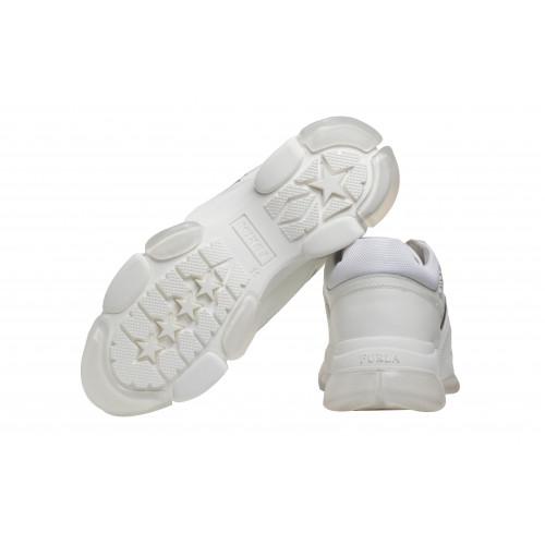 Кроссовки Furla Wonderfurla белые