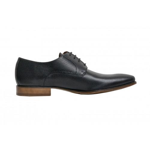 Черные мужские туфли Sergio Serrano 5812