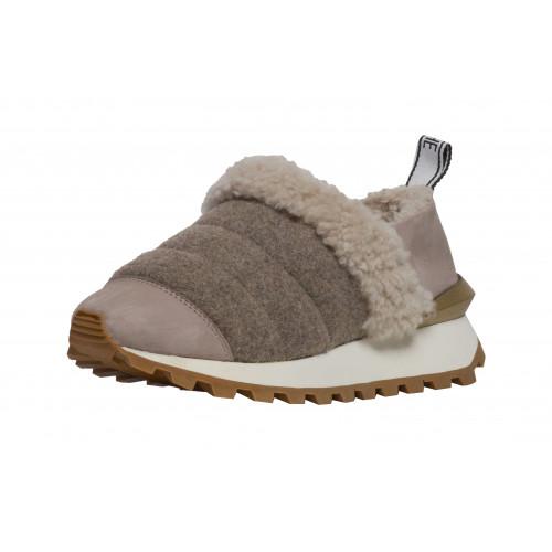 Зимние кроссовки-слипоны Voile Blanche