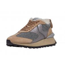 Фетровые женские кроссовки Voile Blanche
