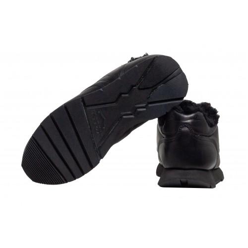 Зимние черные кроссовки Voile Blanche 6228