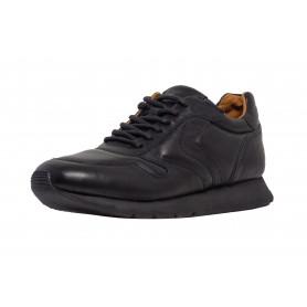 Мужские черные кроссовки Voile Blanche 6227