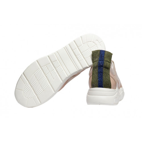 Бежевые женские кроссовки STOKTON