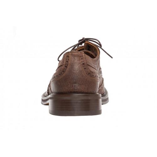 Брогги мужские Camerlengo коричневые