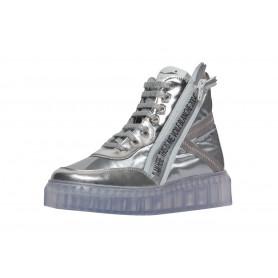 Ботинки женские Voile Blanche серебряные
