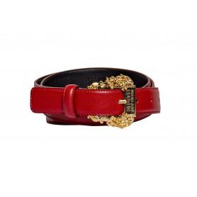 Красный ремень женский Versace Jeans Couture