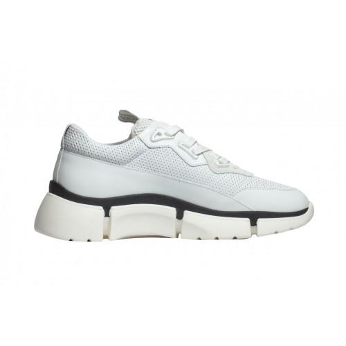 Белые мужские кроссовки Bogner с лого