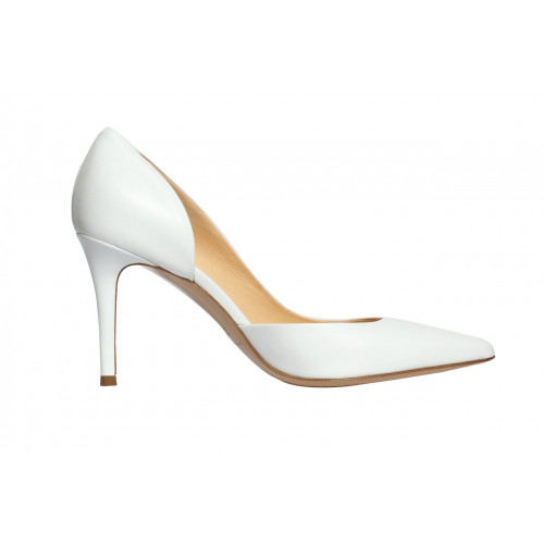 Белые туфли-лодочки Fabio Rusconi