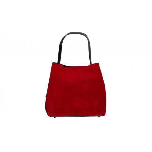 Биколорная сумка Marina Volpe
