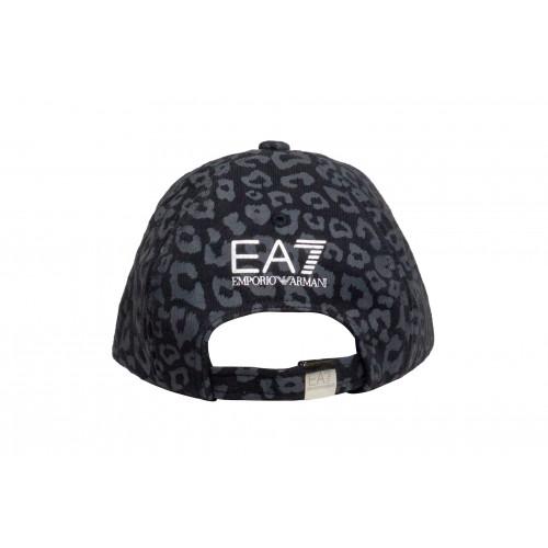 Кепка женская EA7 леопардовая