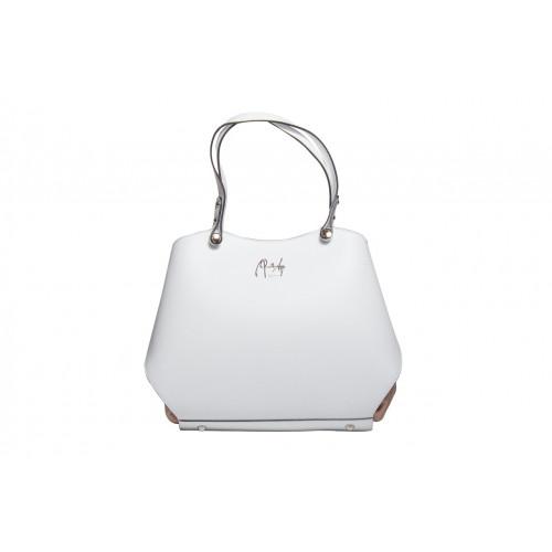 Белая сумка Renato Angi