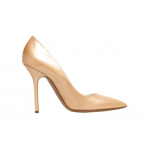 Лаковые туфли-лодочки Pollini