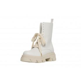 Ботинки женские Helena Soretti молочные