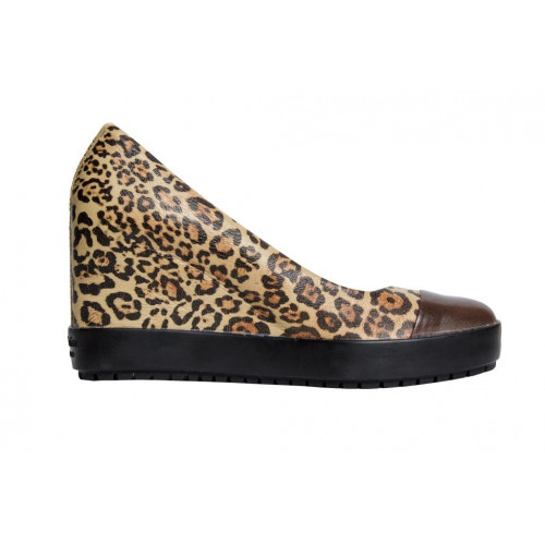 Леопардовые женские туфли Baldinini