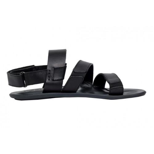 Сандалии мужские Bison черные 73454