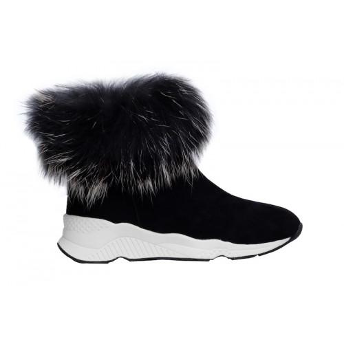 Ботинки женские Gianni Renzi Couture черные