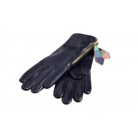 Синие перчатки женские Paul Smith