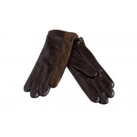 Коричневые перчатки женские Paul Smith