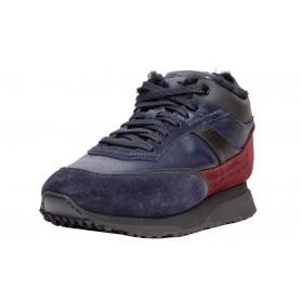 Зимние мужские кроссовки Santoni