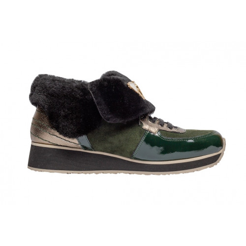 Зимние кроссовки Marzetti с отворотом