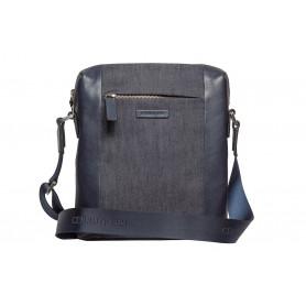 Джинсовая мужская сумка Cerruti 1881