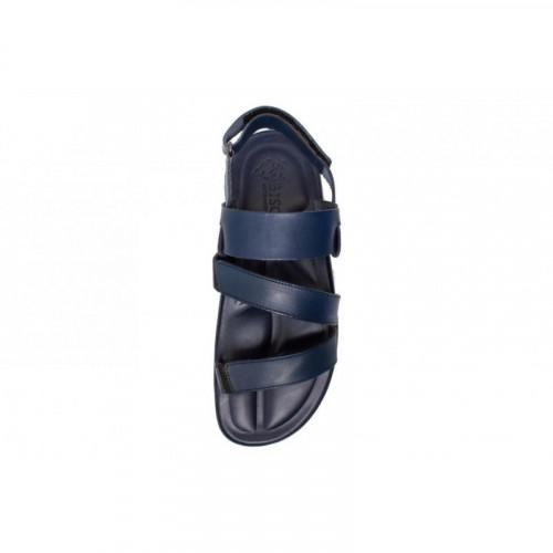 Сандалии мужские Bison синие 73454